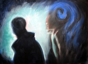 DJs, painting 2008