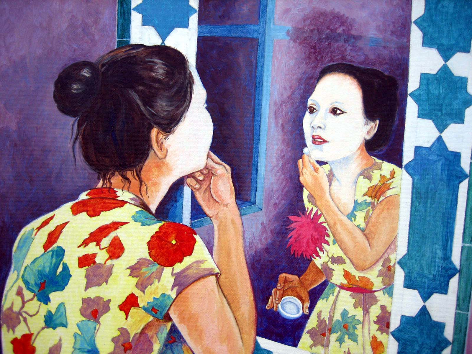Getting Ready, painting, 2006