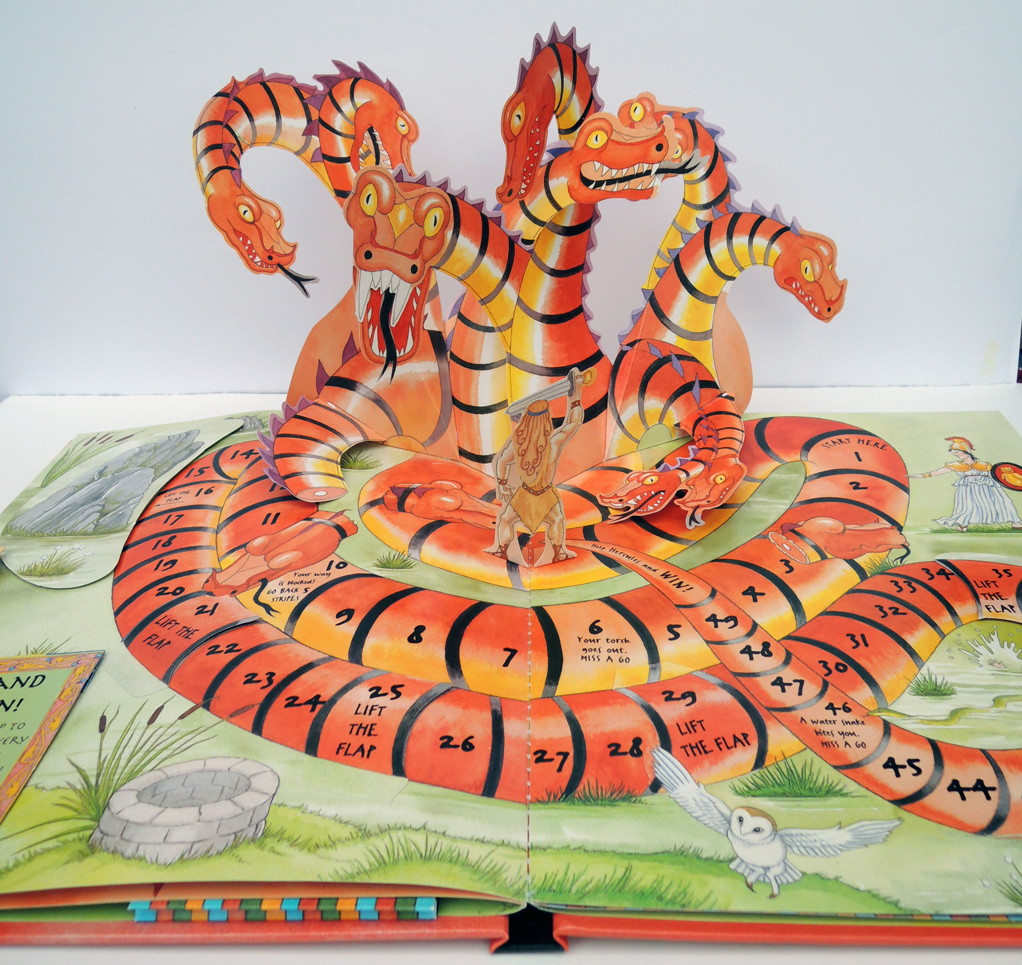 The Book of Dragon Books, 2008, children's pop up book
