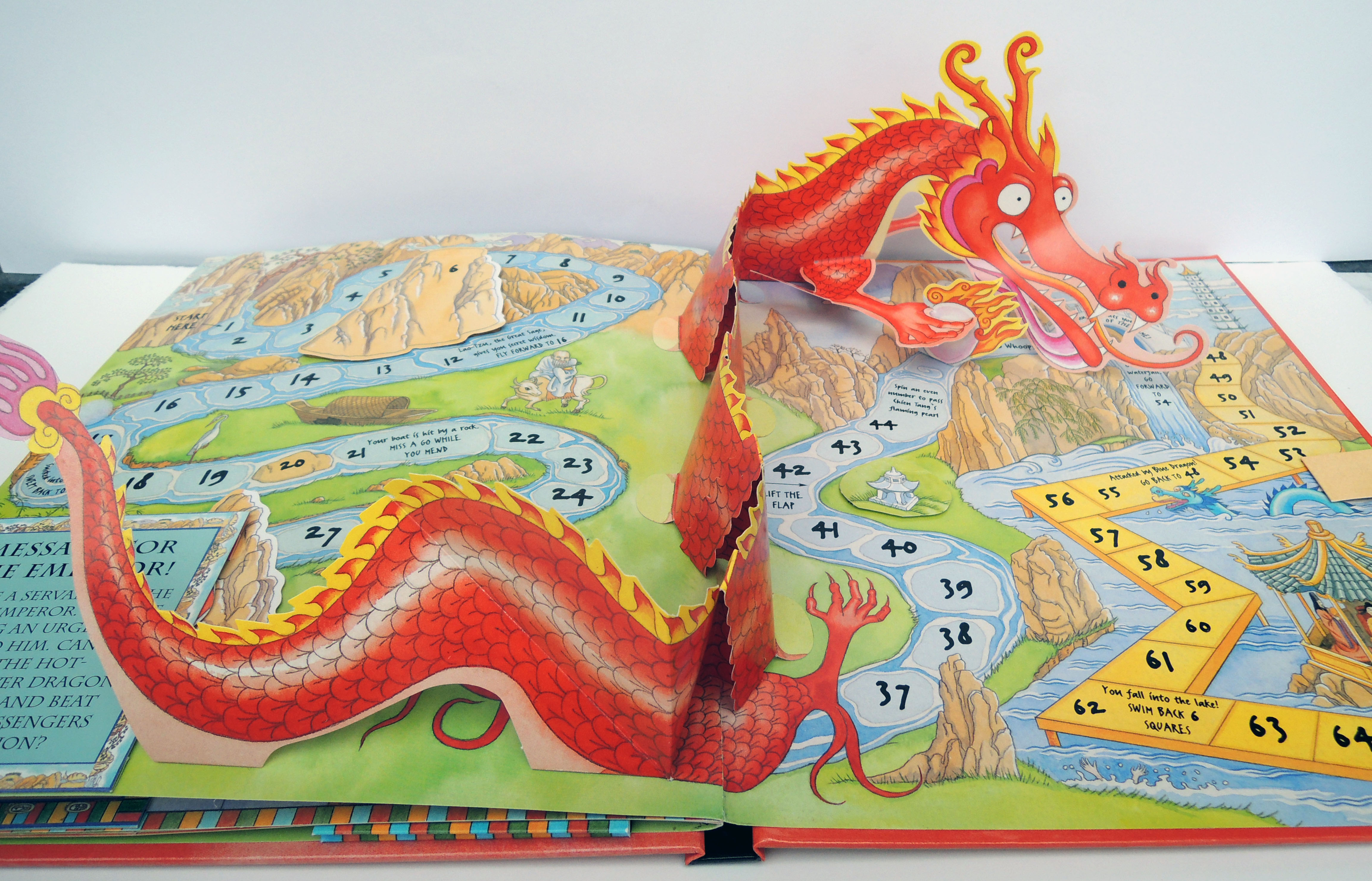 Chinese Dragon, from Book of Dragon Myths, childrens' book