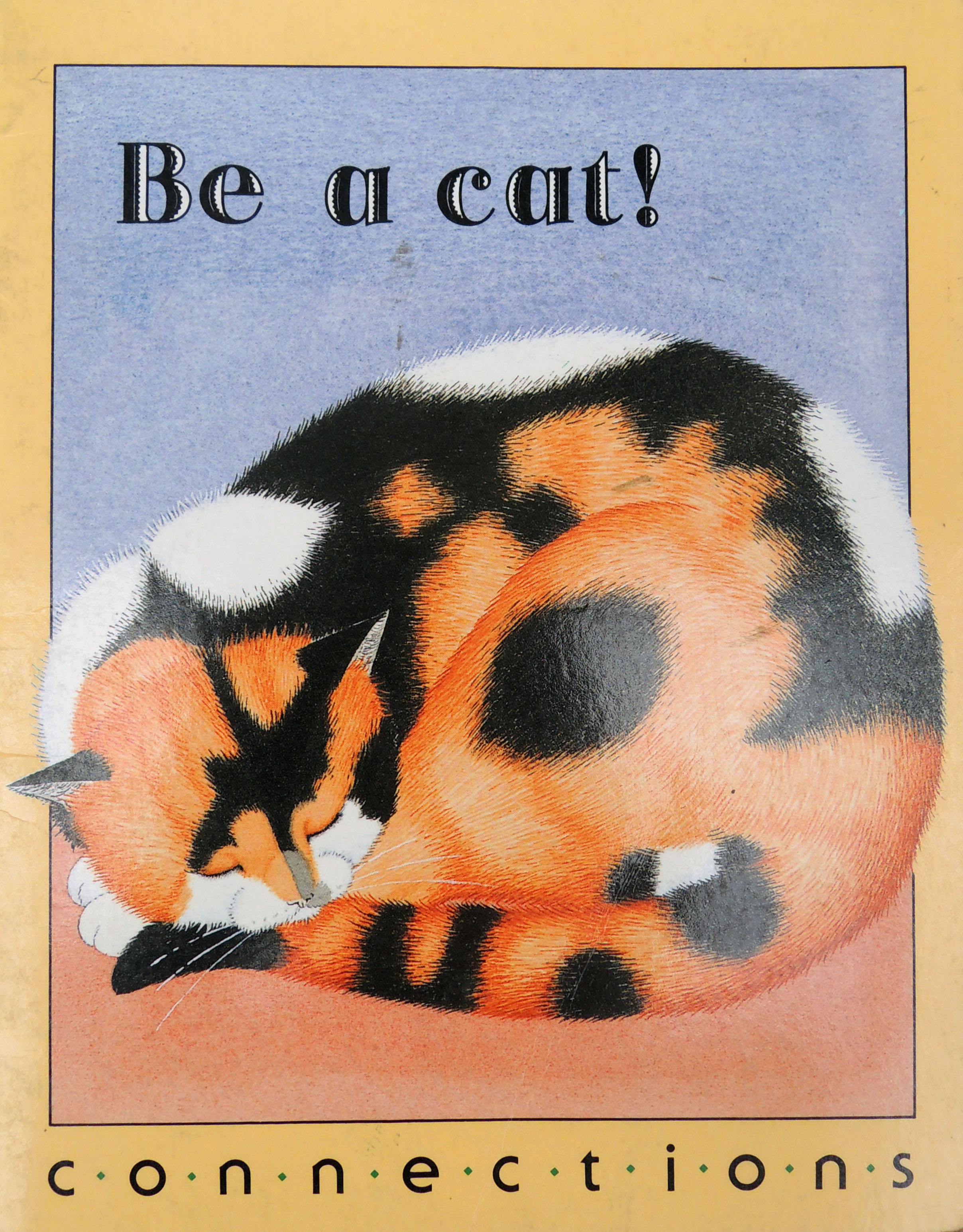 Be a Cat, 1989, childrens' book