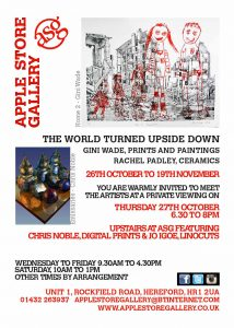The World Turned Upside Down poster