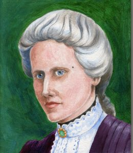 Painting of Annie Maunder