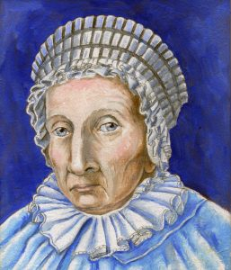 Painting of Caroline Herschel
