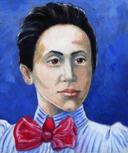 Painting of Emmy Noether
