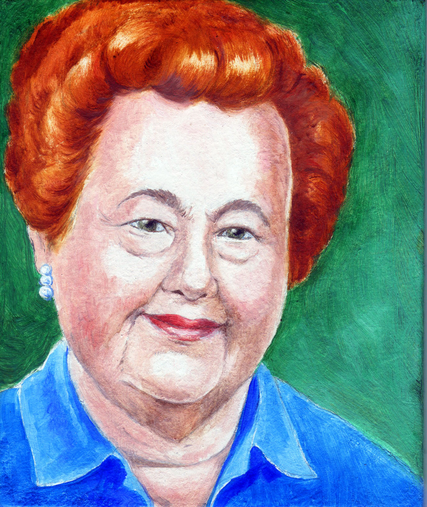 Painting of Gertrude Elion