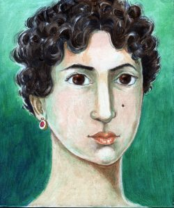 painting of Hypatia of Alexandria