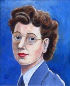 Painting of Joan Clarke