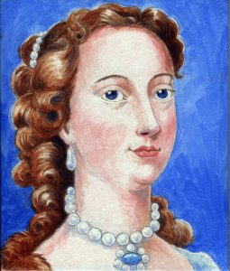 Painting of Margaret Cavendish