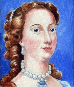 Painting of Margaret Cavendish
