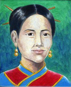 Painting of Wang Zhenyi
