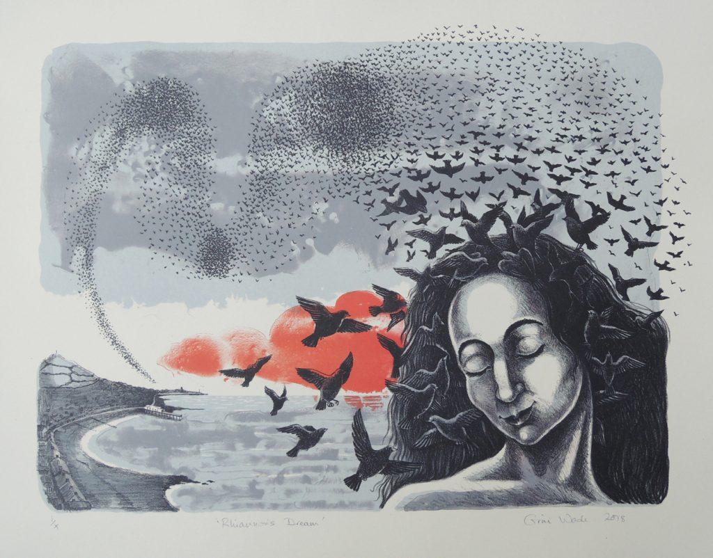 Rhiannon's Dream lithograph